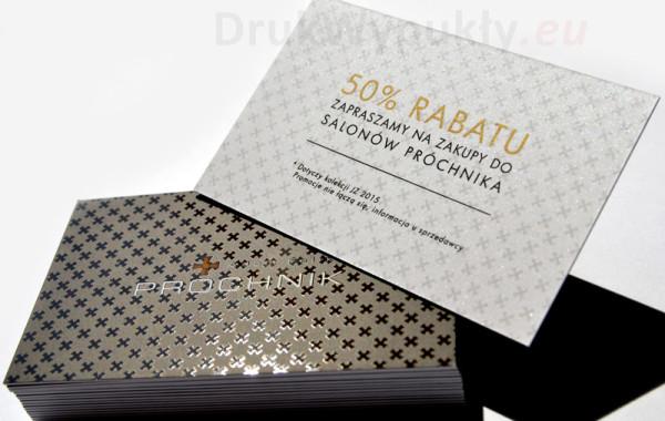 Kaszerowane karty rabatowe
